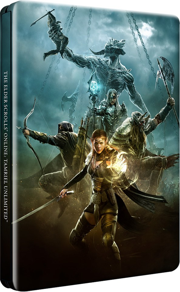 the-elder-scrolls-online-tamriel-unlimited-zavvi-exclusive-steelbook-edition-only-500-available