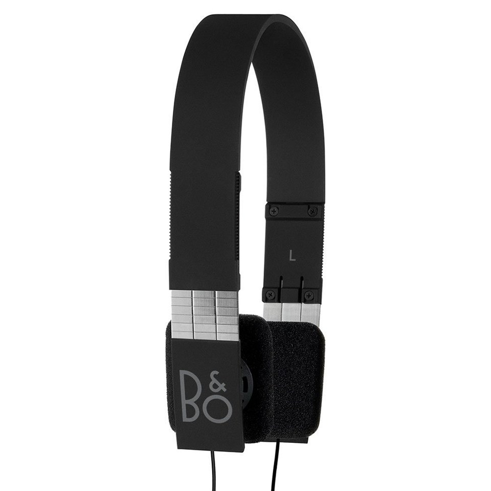 Bang & Olufsen BeoPlay Form 2i Headphones with In-Line Remote - Black