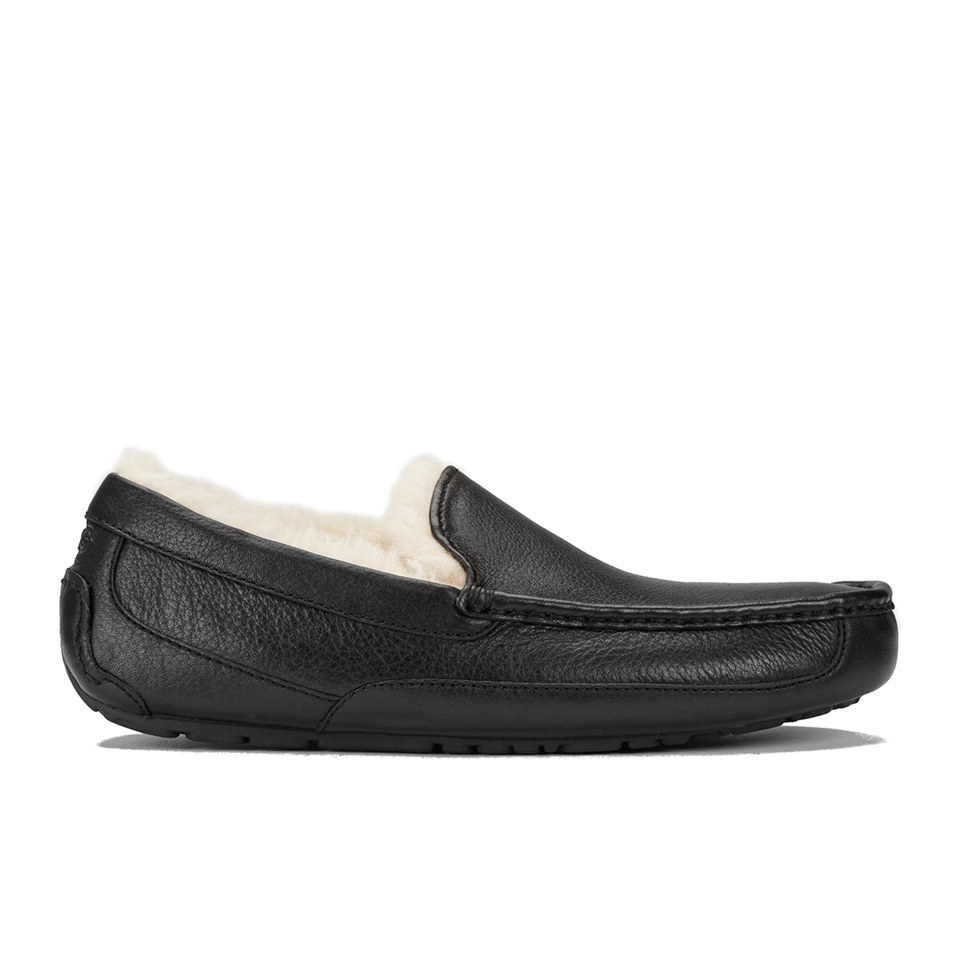 ugg-men-ascot-leather-slippers-black-7