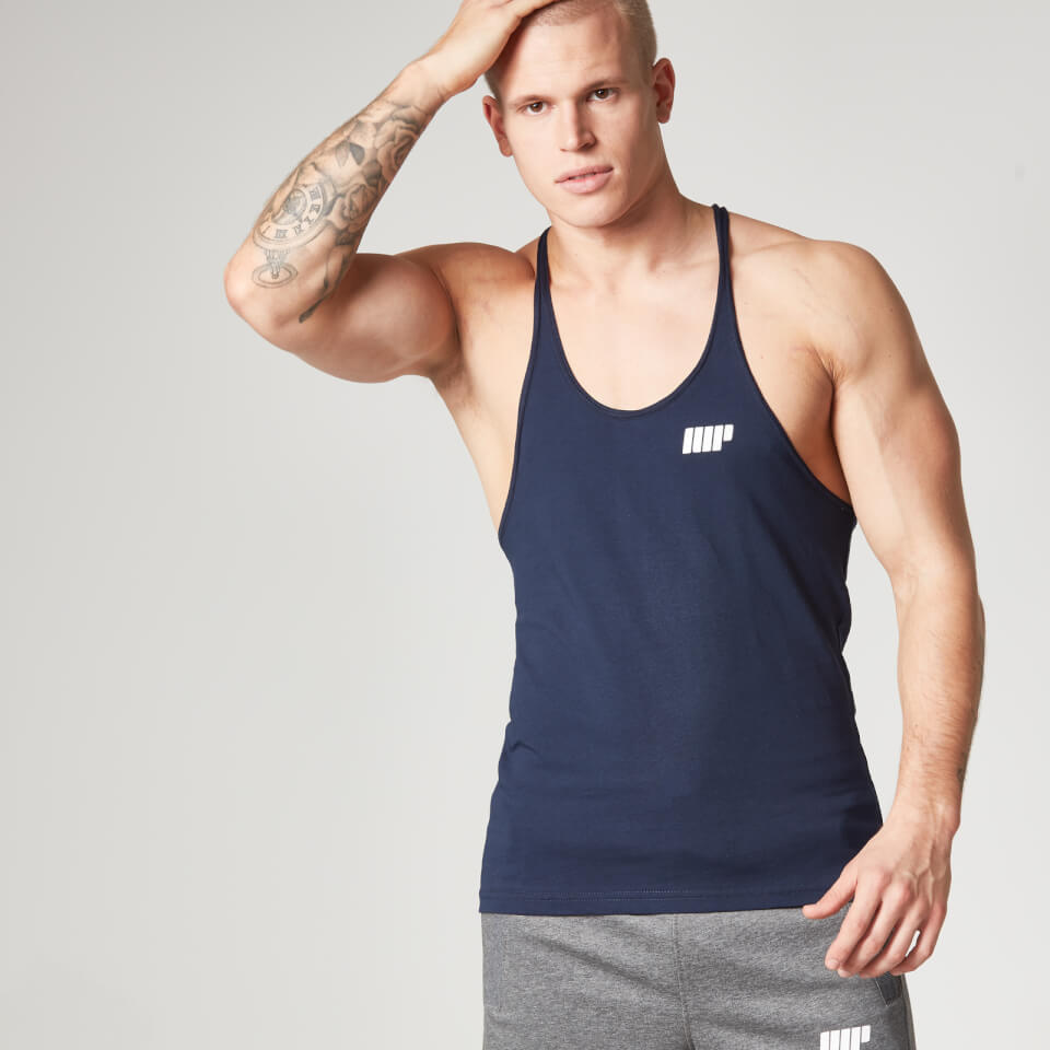 Foto Myprotein Men's Longline Stringer Vest, Navy, S