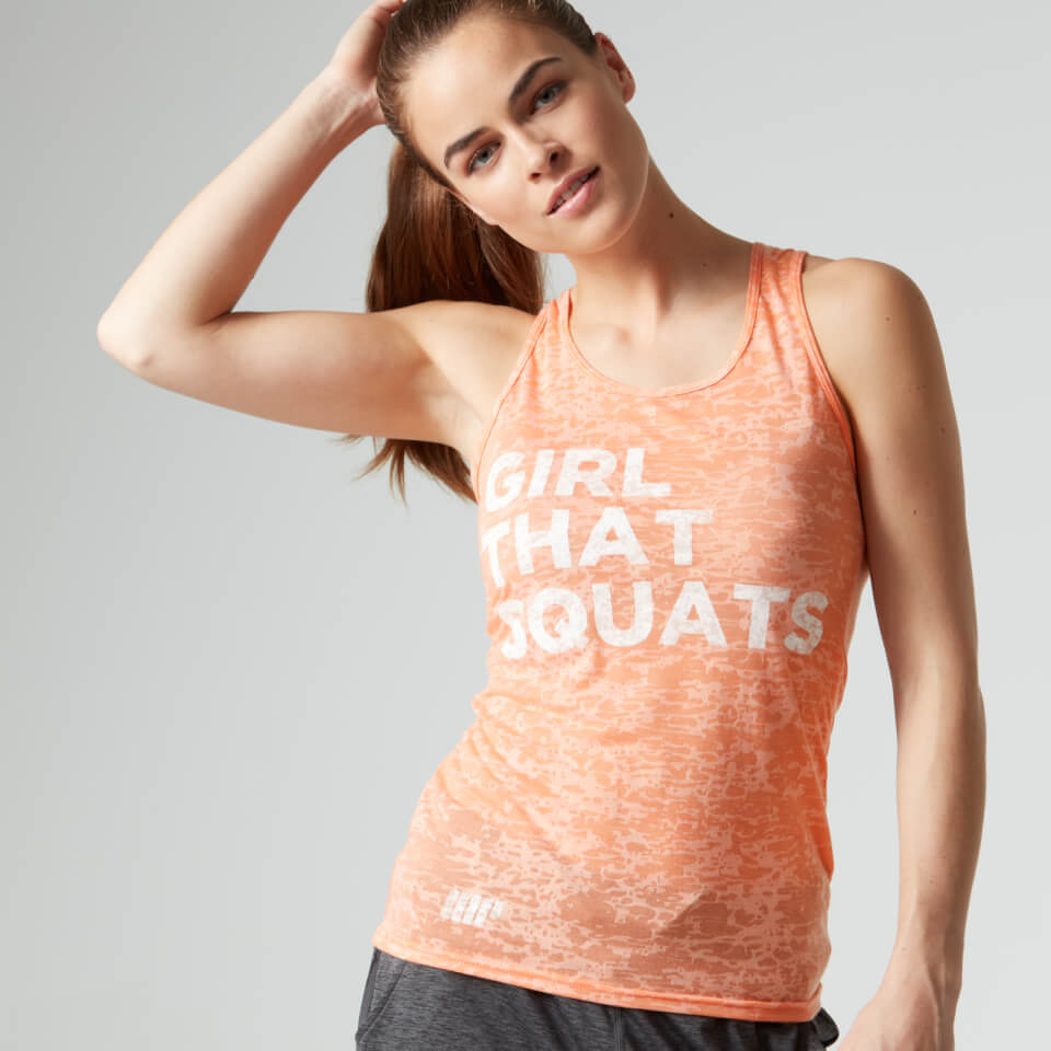 Foto Myprotein Women's Burnout Vest, Peach, 10