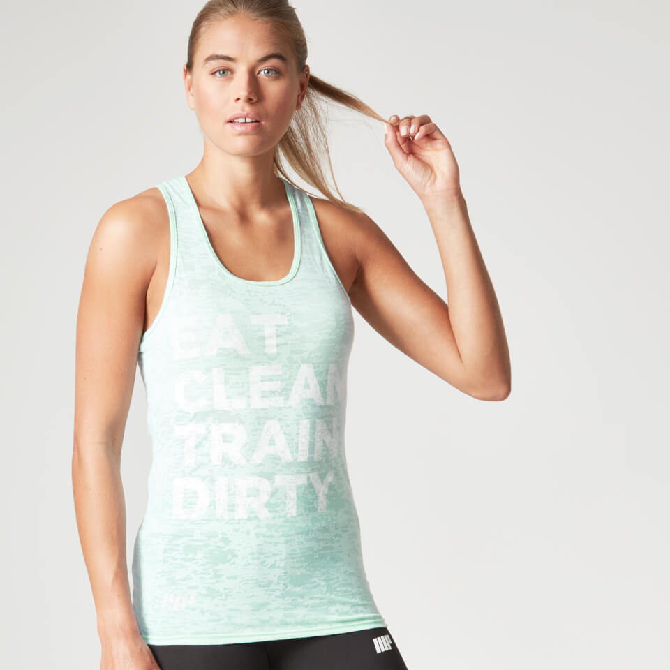 Foto Myprotein Women's Burnout Vest, Pastel Green, 6