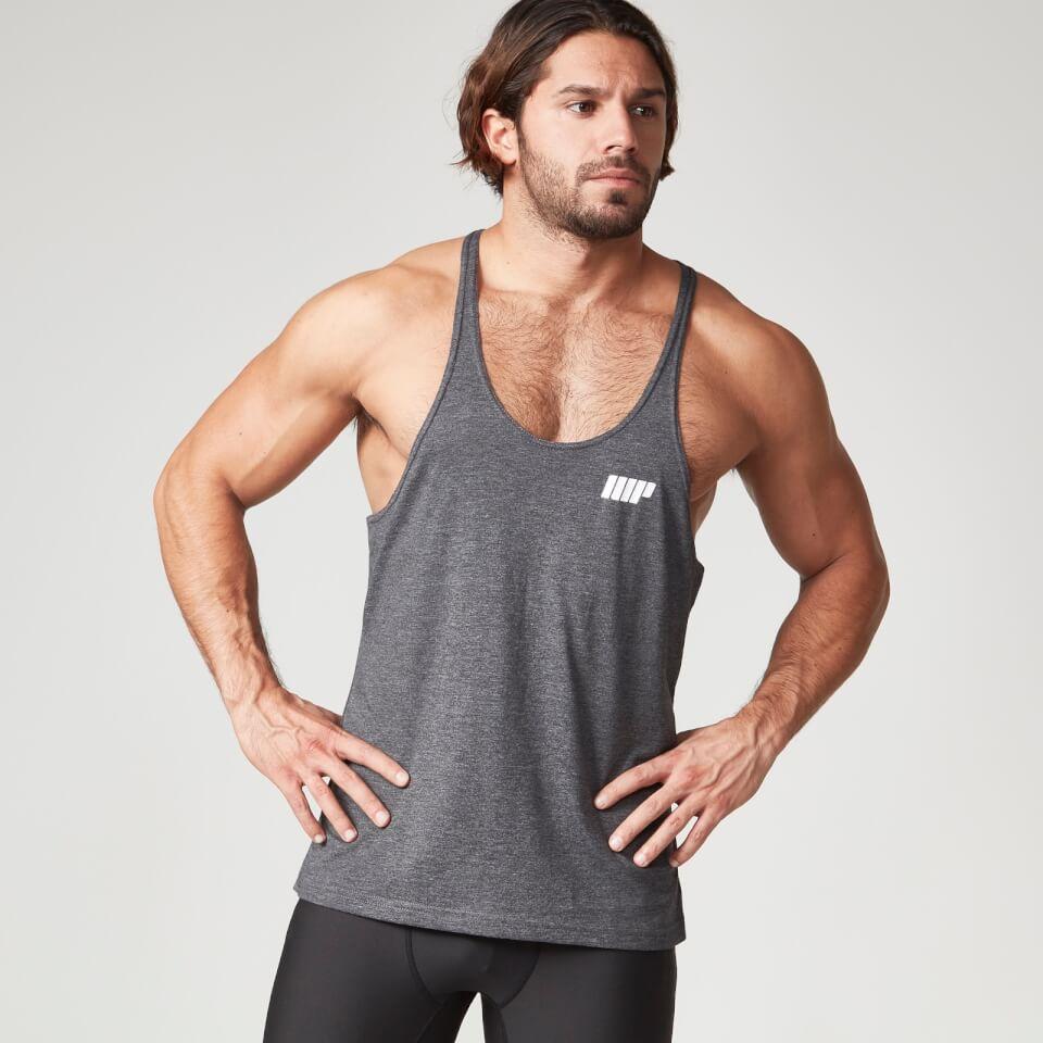 Foto Myprotein Men's Longline Stringer Vest, Charcoal, XXL