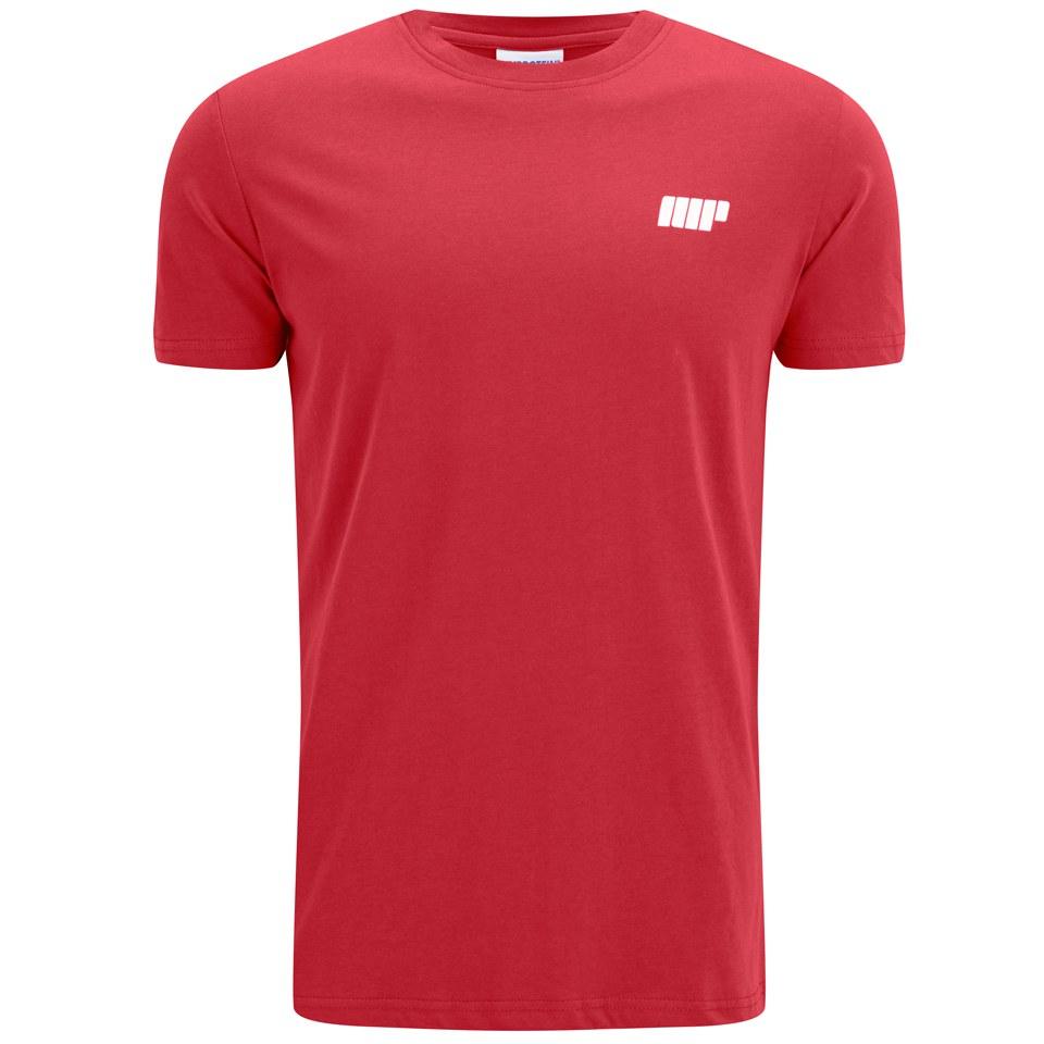 Foto Myprotein Men's Longline Short Sleeve T-Shirt, Red, L