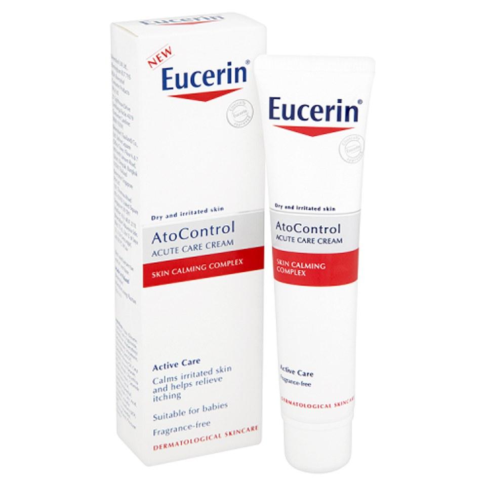 eucerin atocontrol acute care cream 40ml free shipping lookfantastic. Black Bedroom Furniture Sets. Home Design Ideas