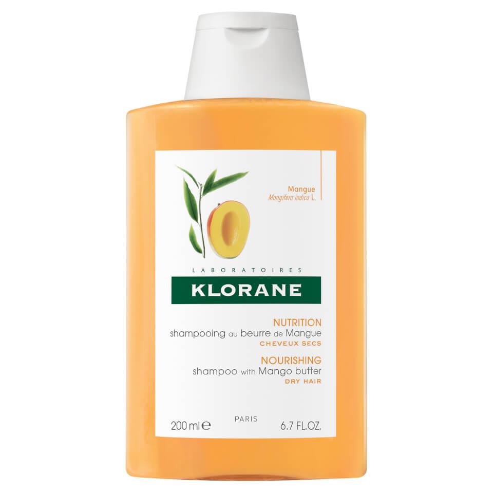 Klorane Voedende Shampoo Met Mangoboter 200ml Nieuwe Formule