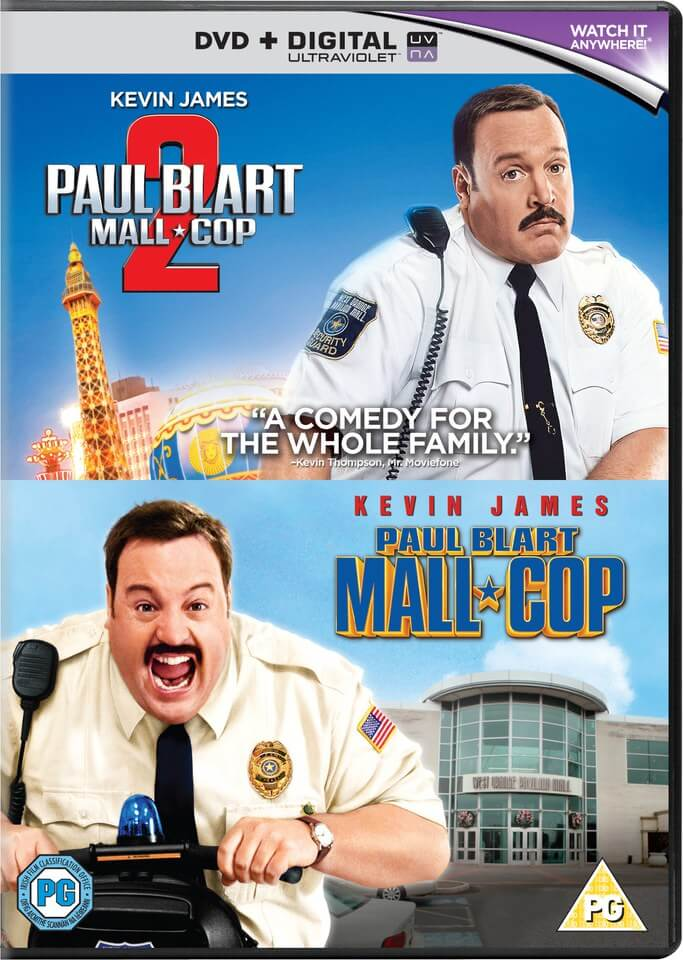 Paul Blart Mall Cop 1 Amp 2 Includes Ultraviolet Copy Dvd