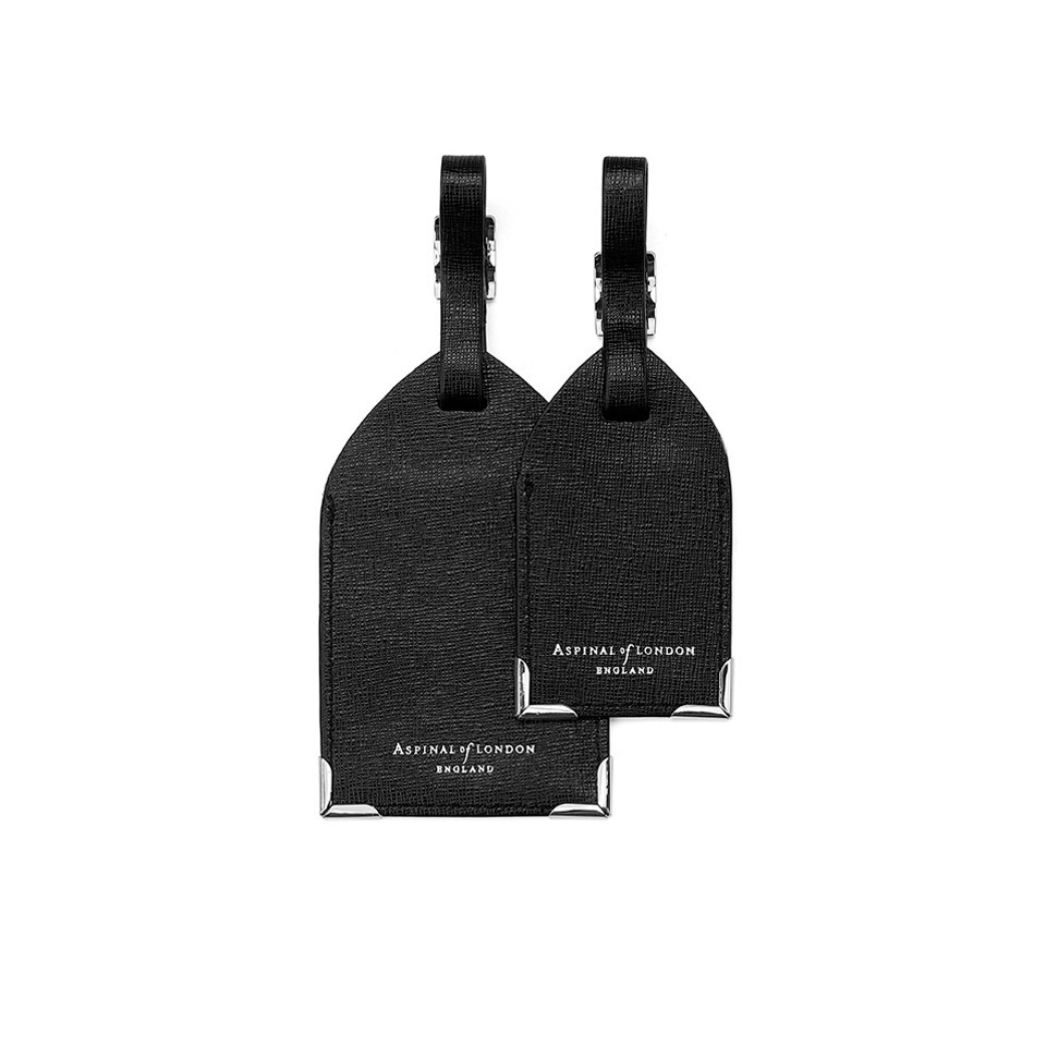 aspinal-of-london-luggage-tags-black