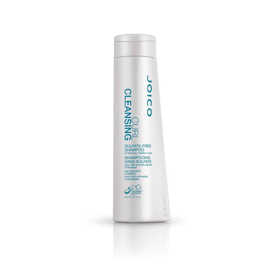 Joico Curl Cleansing Sulfate-Free Shampoo for Bouncy Healthy Curls (300ml)