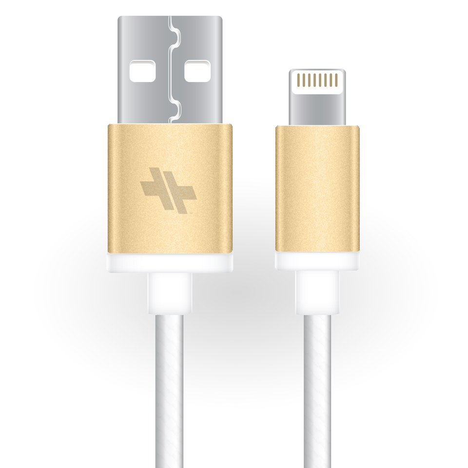 swiss-mobility-alloy-series-synccharge-rugged-cable-6-ft-for-lightning-devices-gold