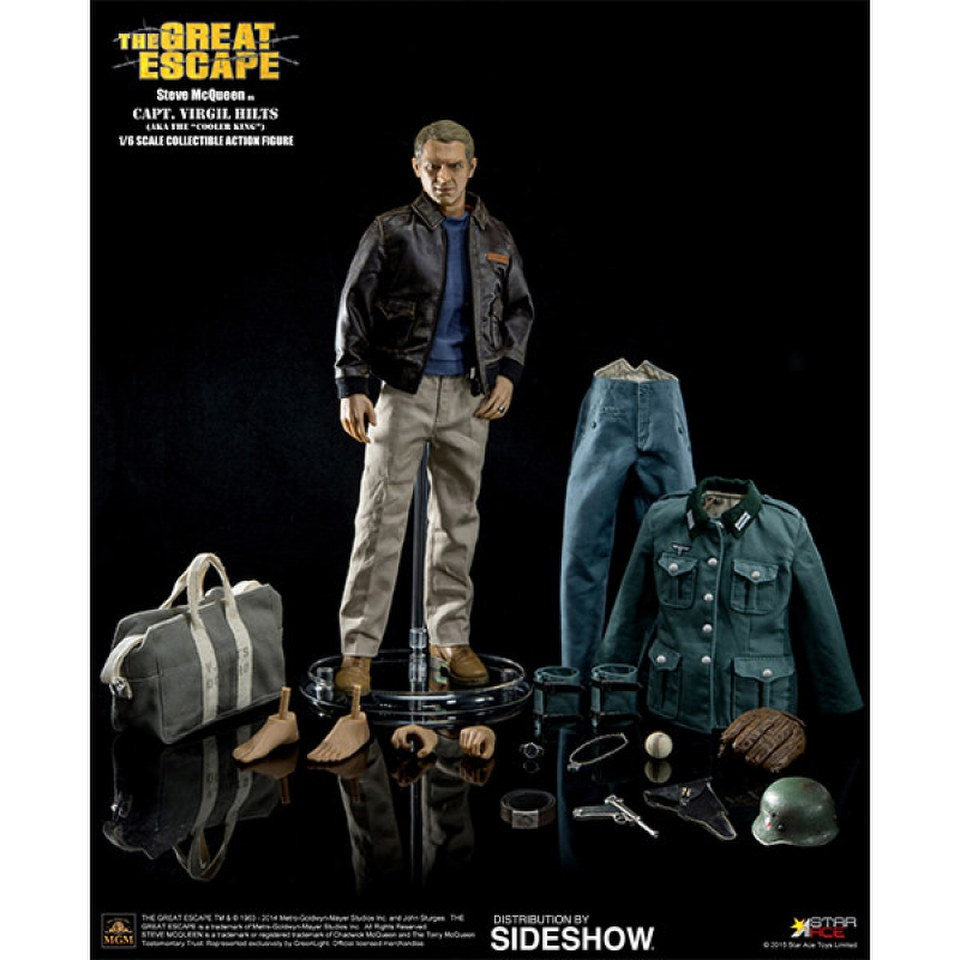 star ace toys the great escape steve mcqueen captain