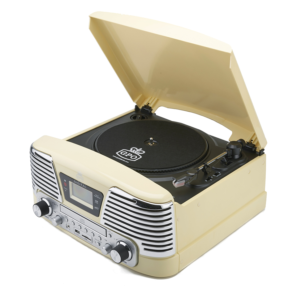 gpo-retro-memphis-turntable-4-in-1-music-system-with-built-in-cd-fm-radio-cream