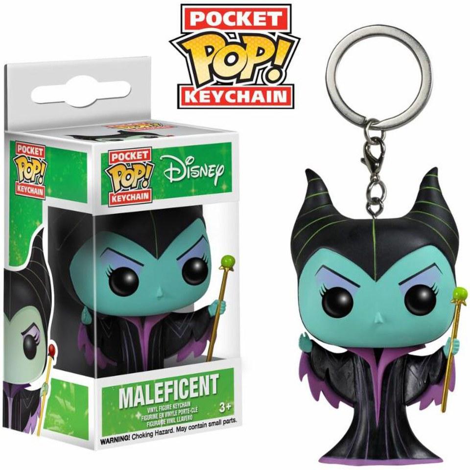 Disney Maleficent Pocket Pop! Vinyl Schlüsselanhänger