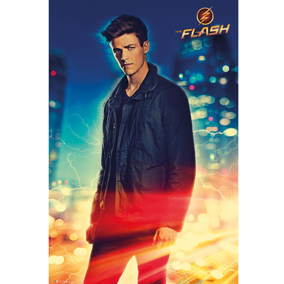 dc-comics-flash-barry-24-x-36-inches-maxi-poster