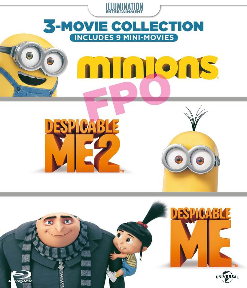 Minions Collection Despicable Me Despicable Me 2