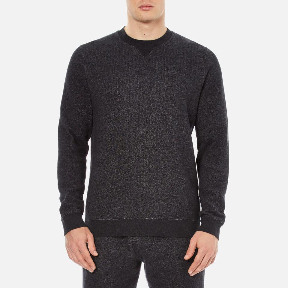 Derek Rose Mens Dorset 1 Sweatshirt Charcoal Xl