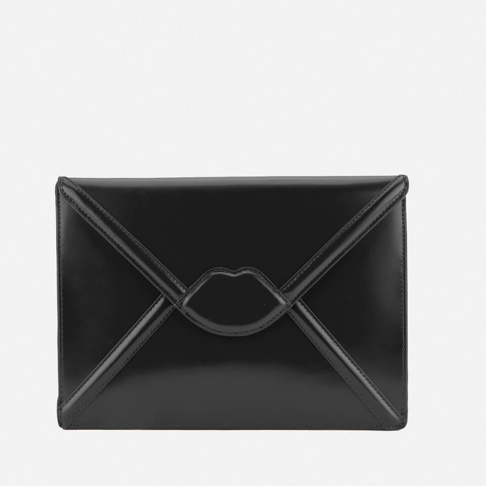 lulu-guinness-women-catherine-large-lips-envelope-clutch-bag-black