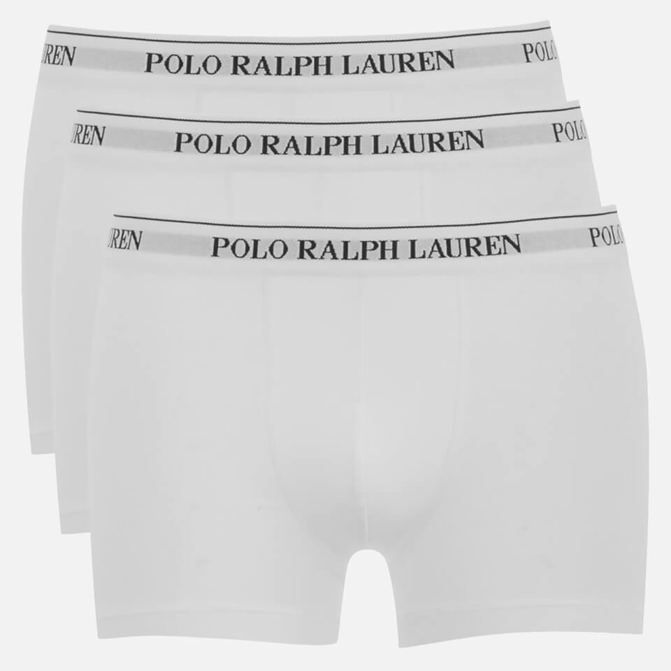 Polo Ralph Lauren Men's 3 Pack Pouch Boxer Shorts - White - S - White