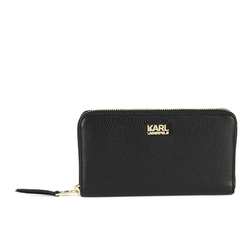 karl-lagerfeld-women-k-grainy-zip-around-wallet-black