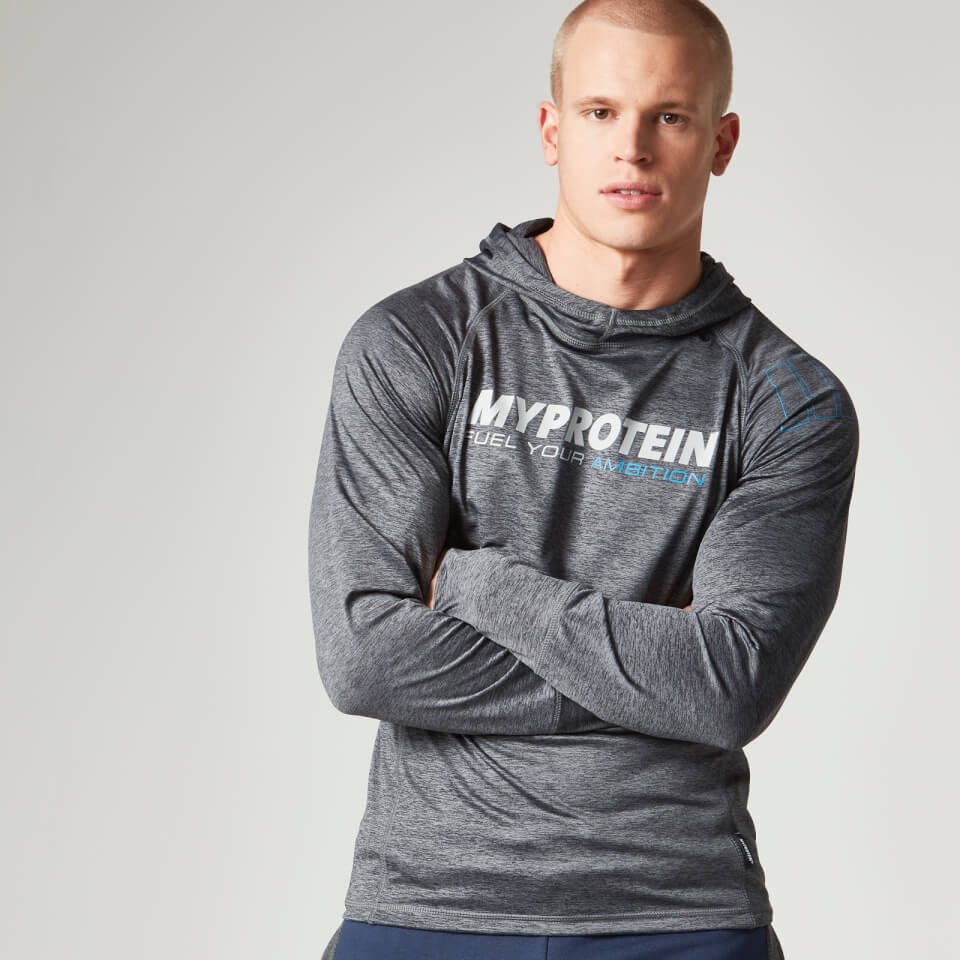 Foto Myprotein Men's Performance Hoody, Charcoal, XL Tute