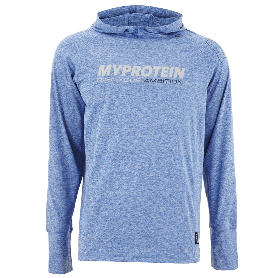 Foto Myprotein Men's Performance Hoody, Blue, M