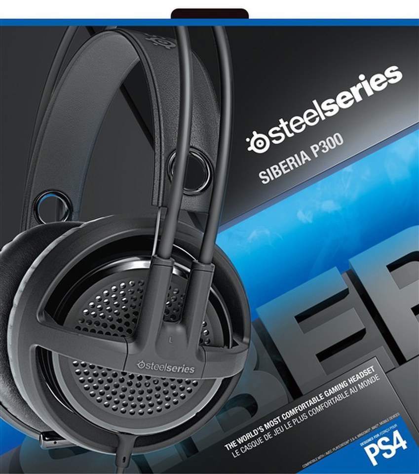Auriculares Siberia P300 PS4