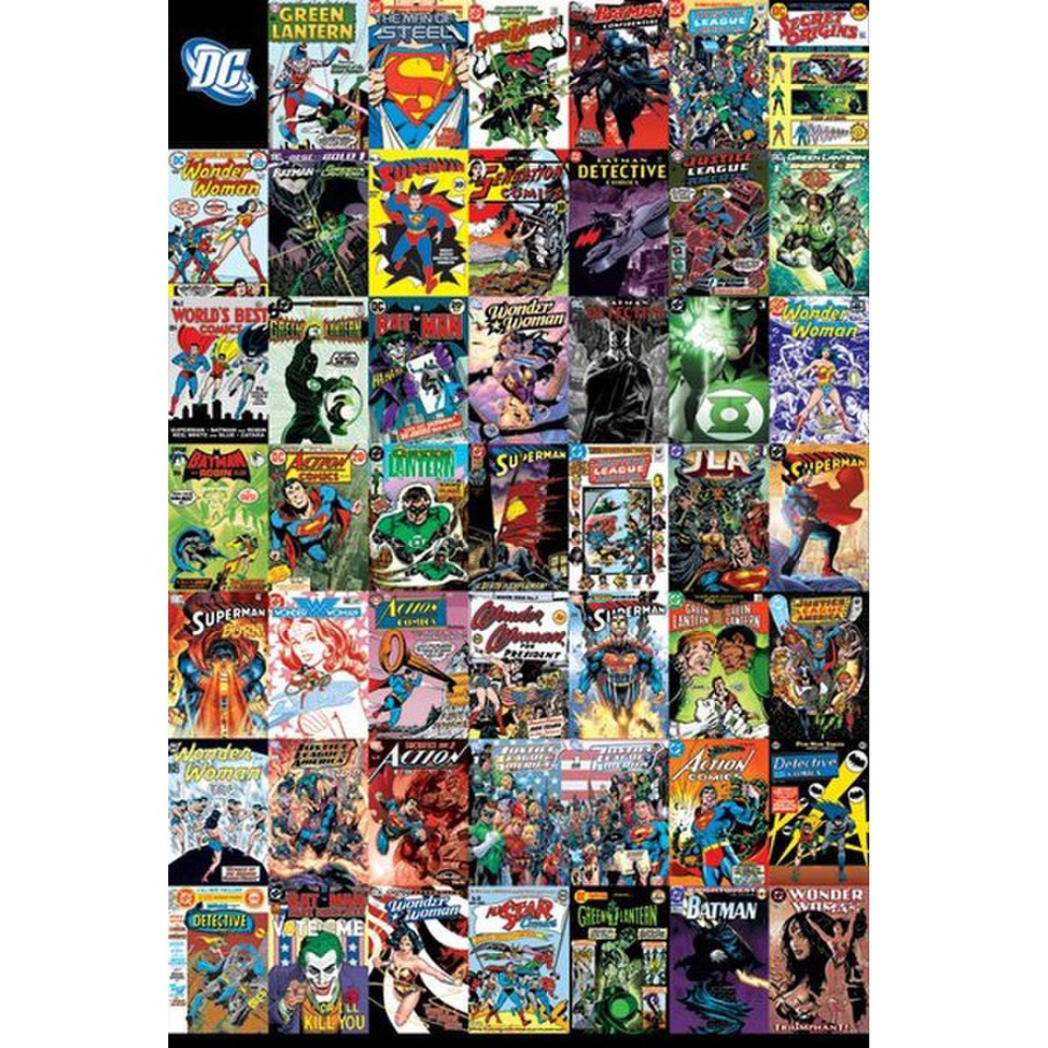 dc-comics-montage-24-x-36-inches-maxi-poster