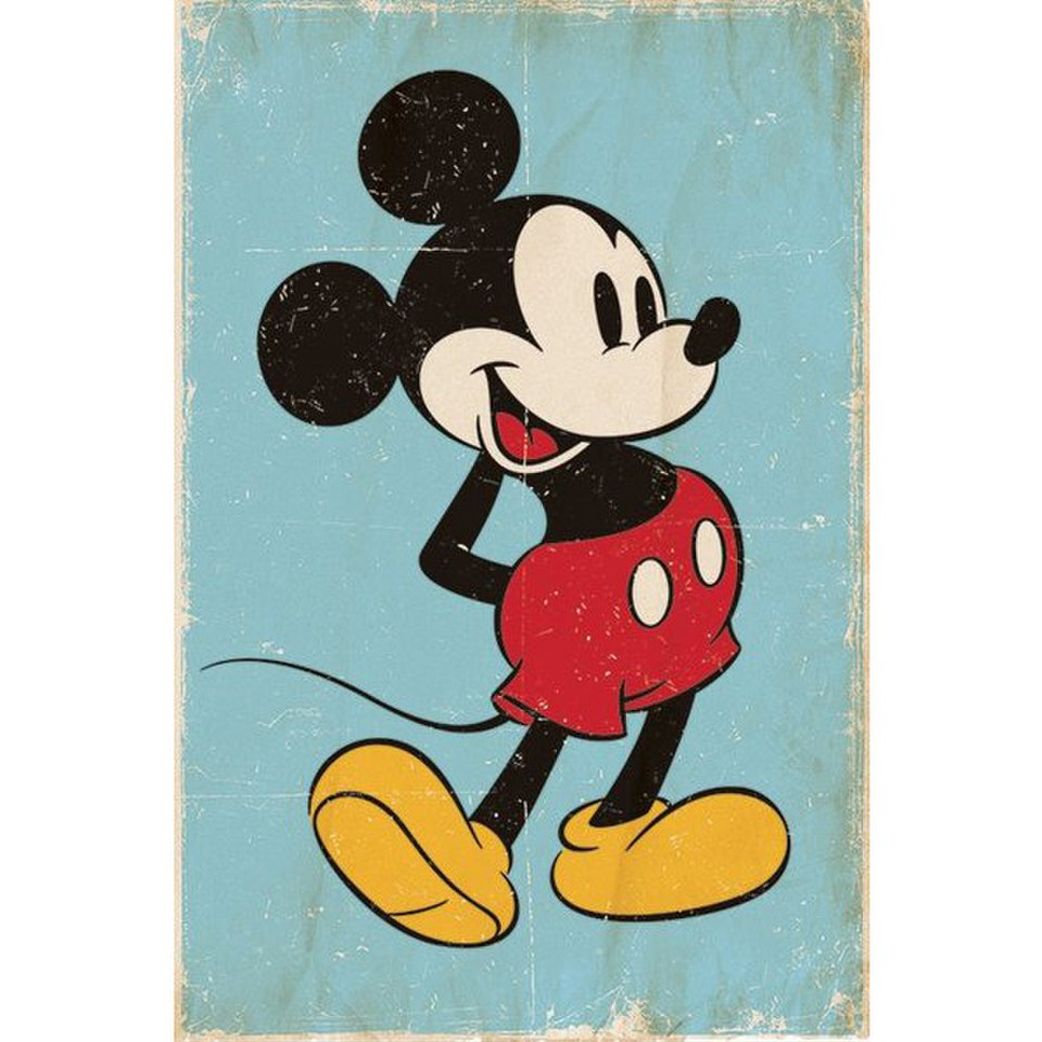 disney-mickey-mouse-retro-24-x-36-inches-maxi-poster