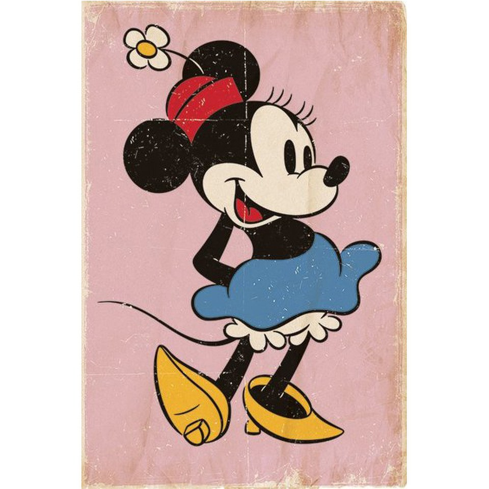 disney-minnie-mouse-retro-24-x-36-inches-maxi-poster