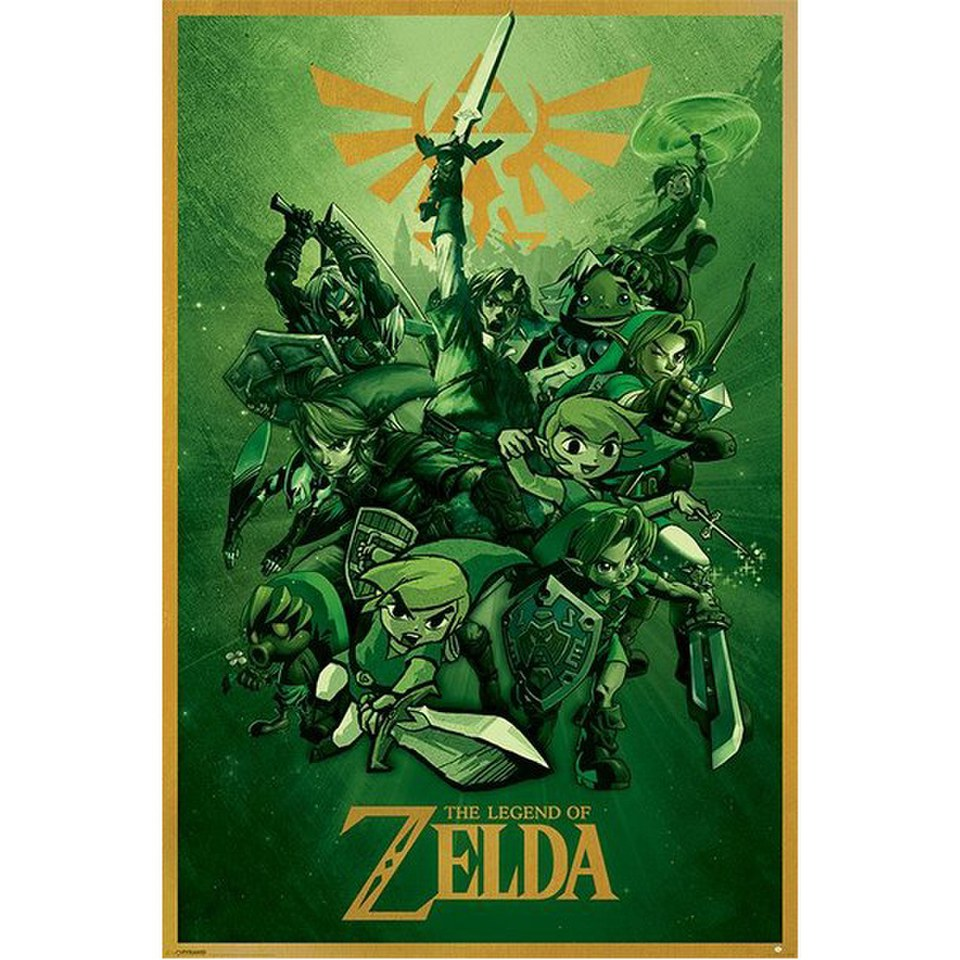 nintendo-the-legend-of-zelda-link-24-x-36-inches-maxi-poster