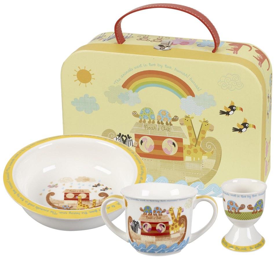little-rhymes-noah-ark-3-piece-mug-porringer-egg-cup-set-in-a-gift-box