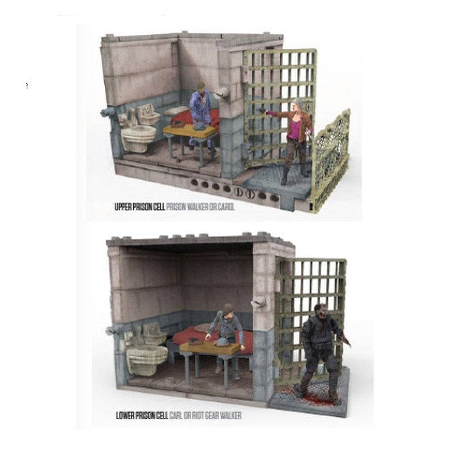 mc-farlane-the-walking-dead-upper-lower-prison-cells-construction-set