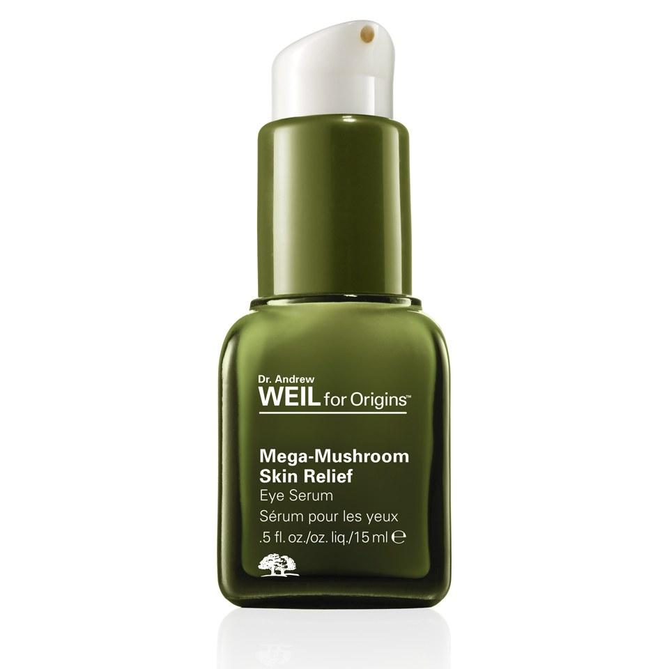 Origins Dr Andrew Weil Mega-Mushroom Skin Relief sérum contour des yeux (15ml)
