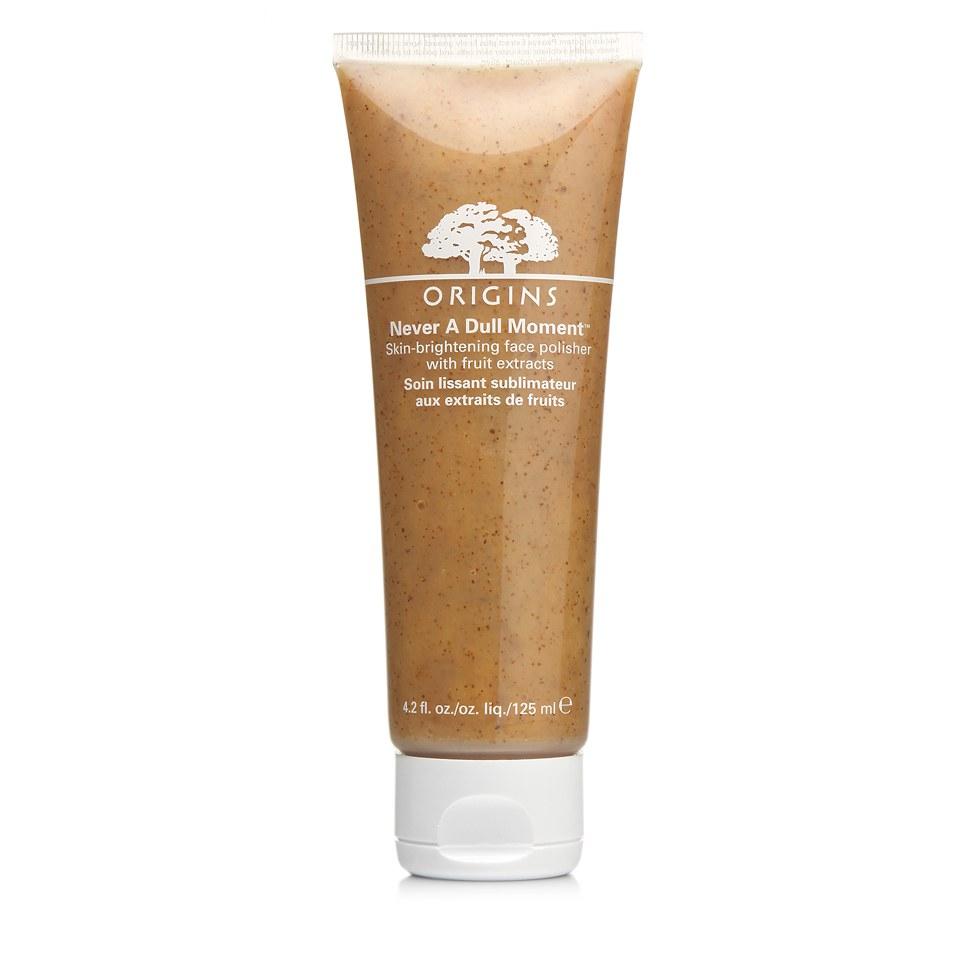Origins Never A Dull Moment Skin-Brightening Face Polisher medfruktextrakt 125 ml