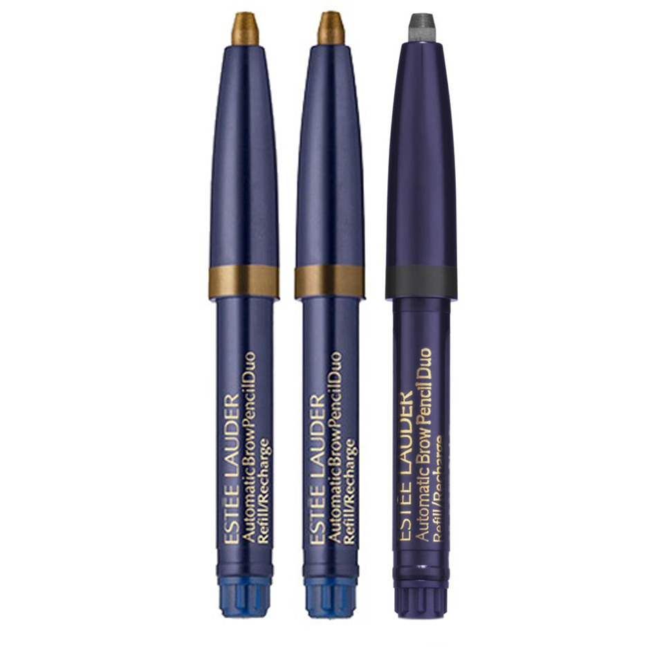 Köpa billiga Estée Lauder Automatic Brow Duo Refill in Soft Brown online