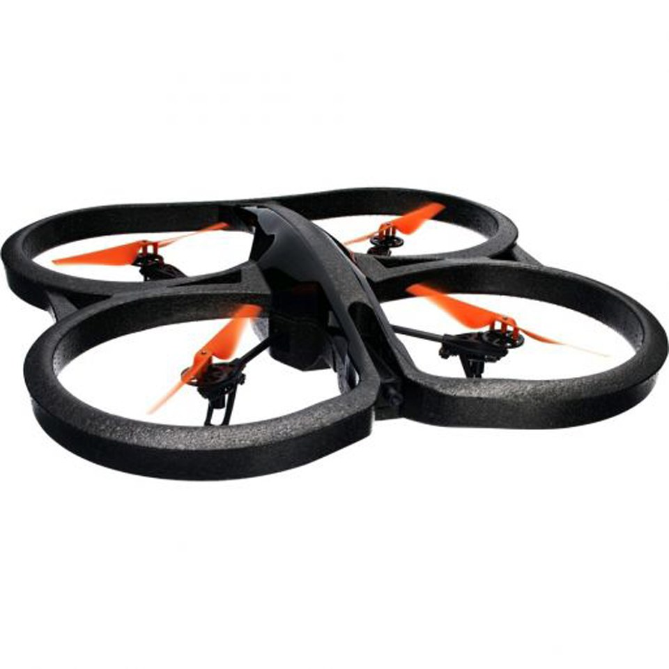 Parrot AR.Drone 2.0 Power Edition Quadricopter Black Red