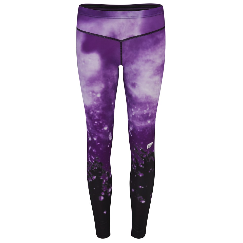Foto Myprotein Women's FT Athletic Tights, Purple, XS