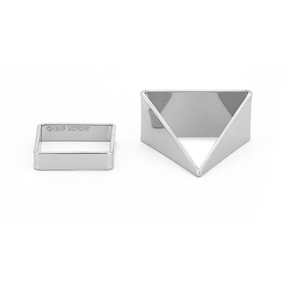 cheap-monday-women-geo-rings-silver-xss