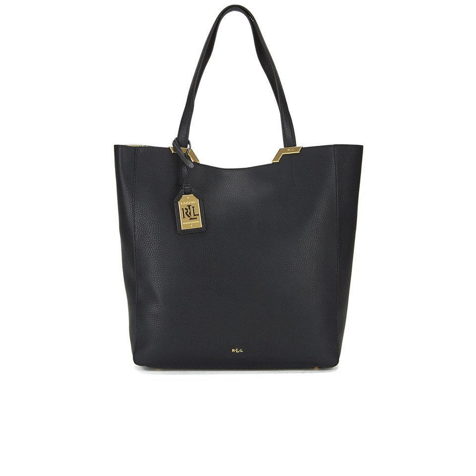 Lauren Ralph Lauren Women s Acadia Tote Bag - Black 6626493add00b
