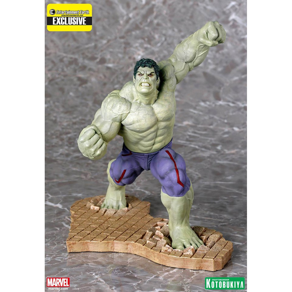 kotobukiya-marvel-avengers-age-of-ultron-rampaging-hulk-ee-exclusive-artfx-110-scale-statue