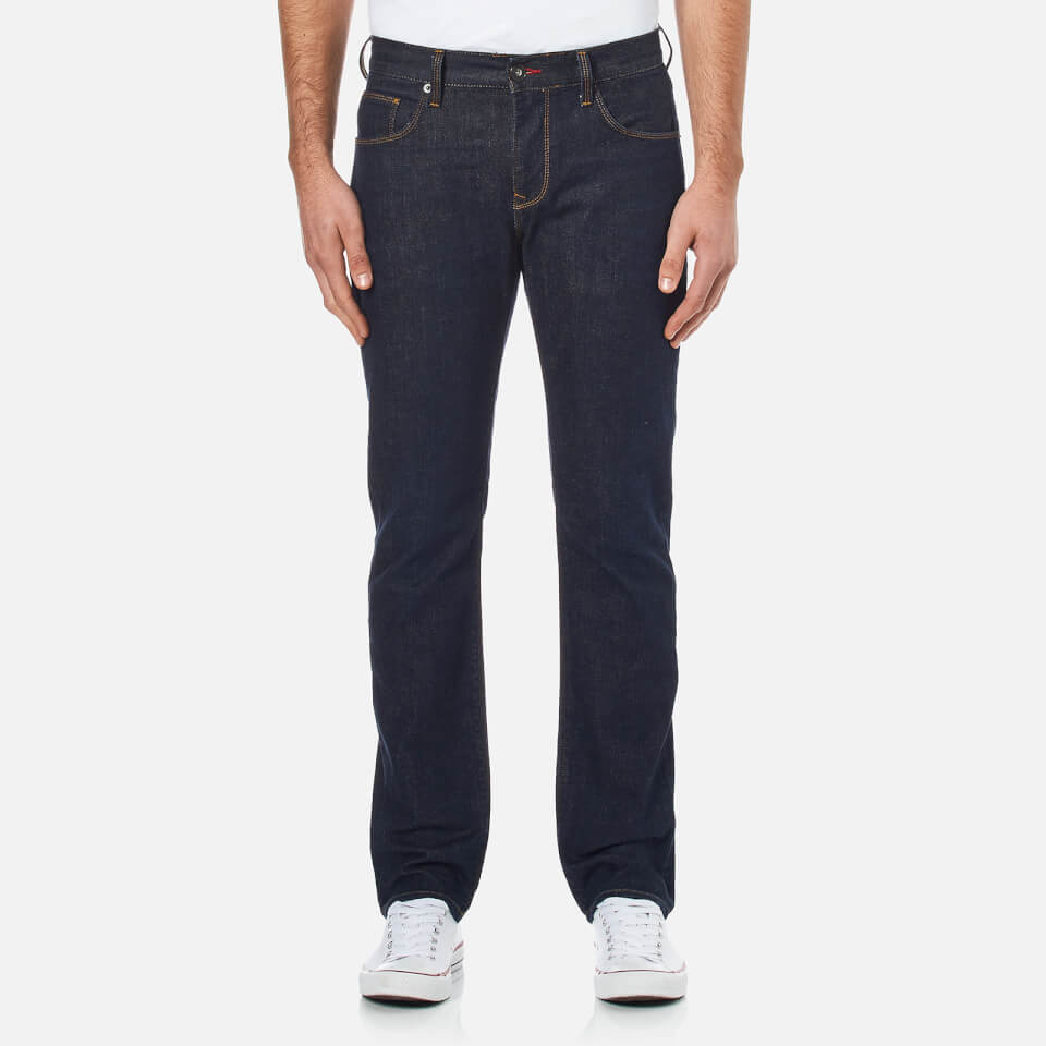 Tommy Hilfiger Mens Denton Straight Leg Denim Jean Clean Blue W34/l32