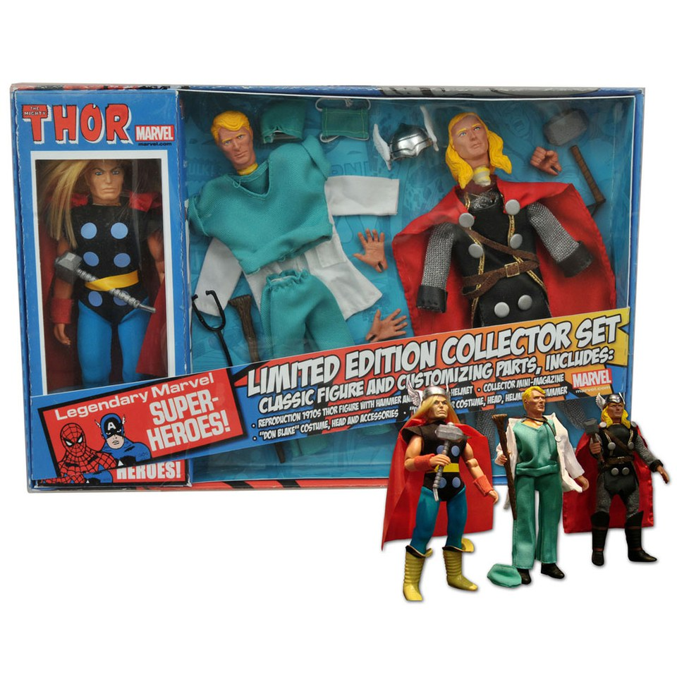 diamond-select-marvel-retro-thor-edition-collector-figure-set