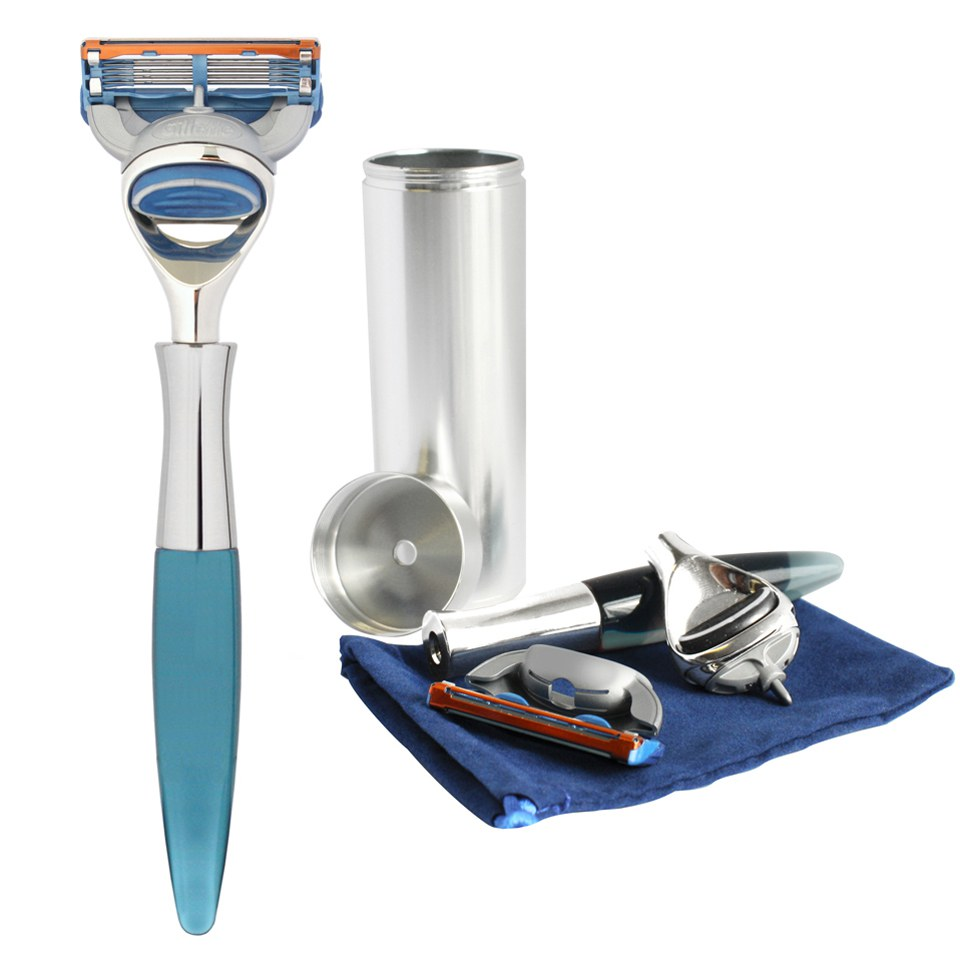 eshave-men-5-blade-travel-razor-with-canister-blue