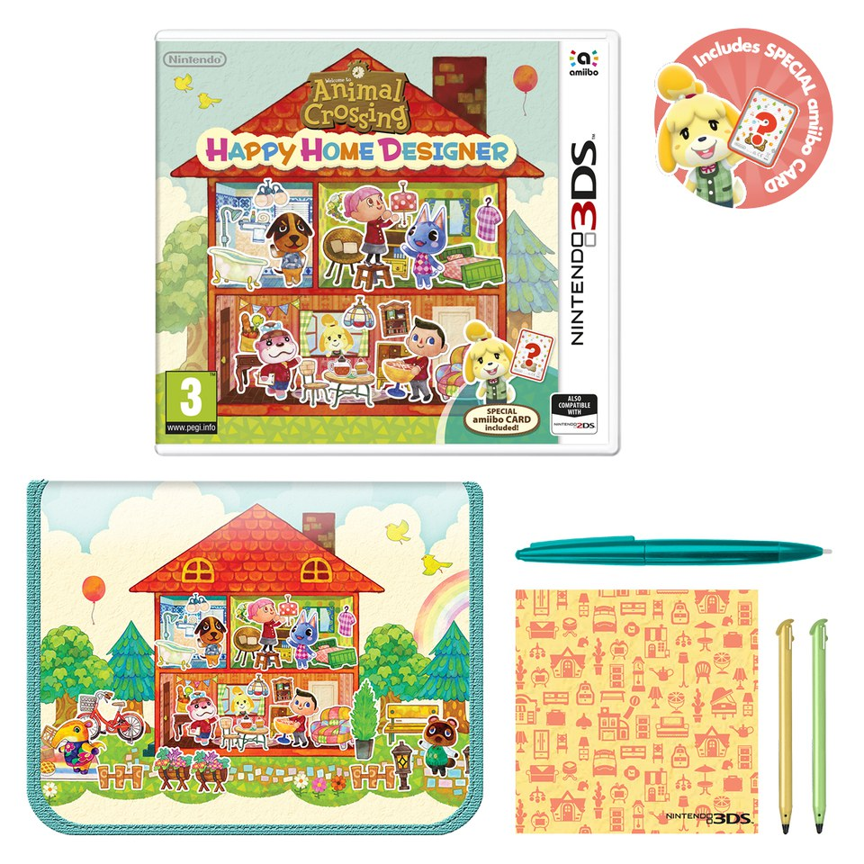 Animal Crossing: Happy Home Designer  Nintendo UK Store
