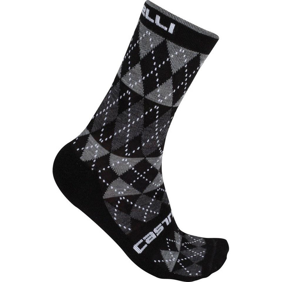 castelli-diverso-socks-black-sm