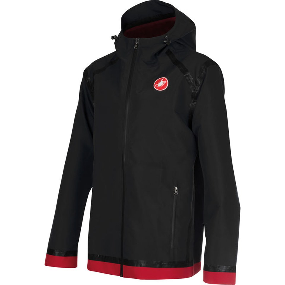 castelli-meccanico-rain-shell-jacket-black-red-l
