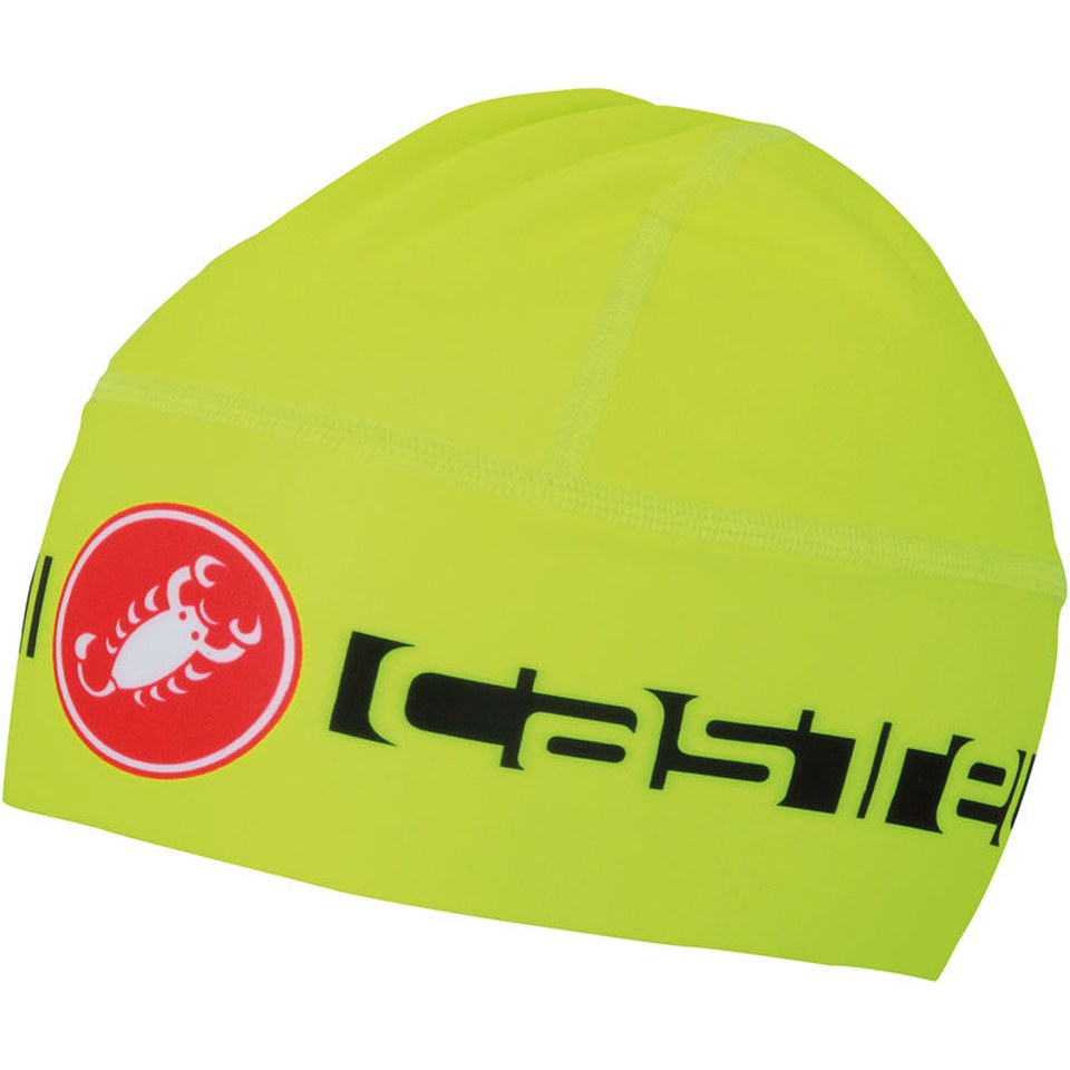 castelli-viva-thermo-skully-yellow