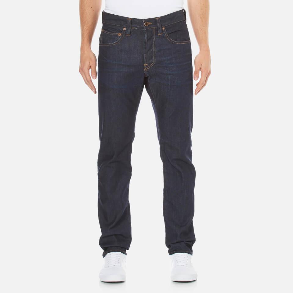 Mens Big Stitch Straight Leg Jeans