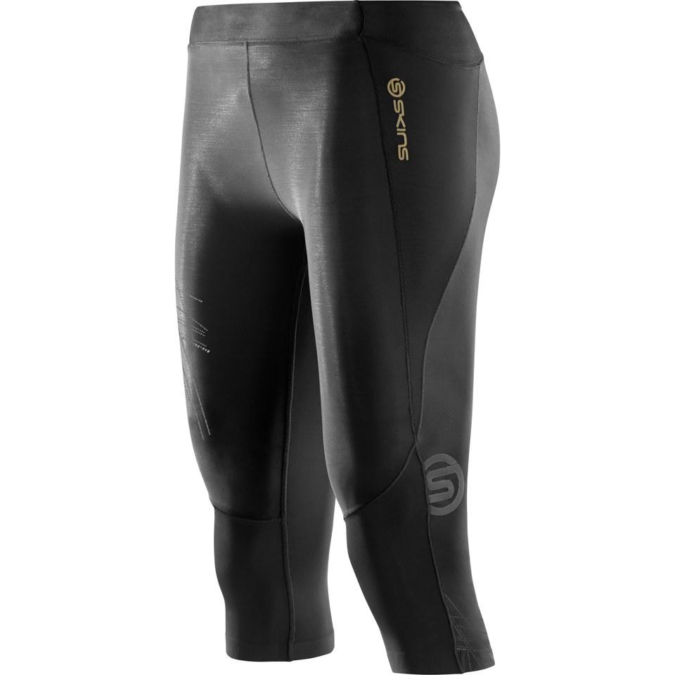 skins-a400-women-starlight-34-compression-tights-black-xs