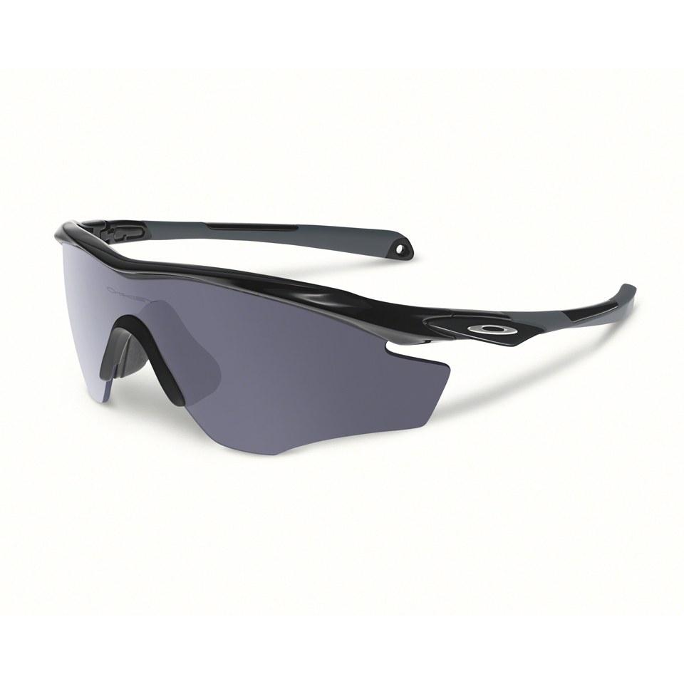 Oakley M2 Frame XL Sunglasses - Polished Black/Grey ...
